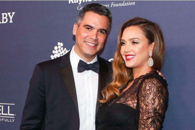 Jessica Alba et son mari Cash Warren