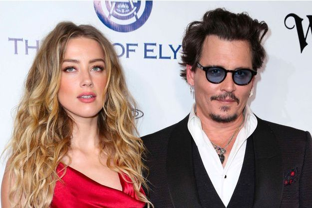 Johnny Depp et Amber Heard, janvier 2016