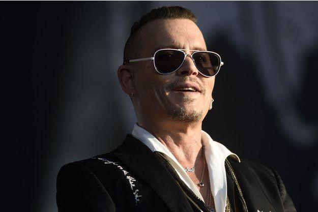 Johnny Depp en juin 2018