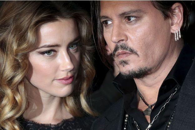 Johnny Depp et Amber Heard en 2015.