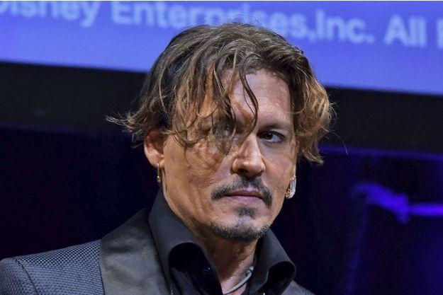 Johnny Depp à Tokyo, le 20 juin 2017.
