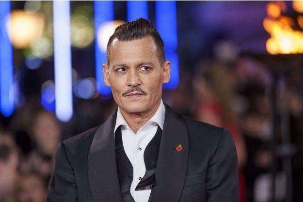 Johnny Depp en novembre 2017.