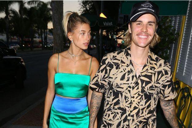 Justin Bieber et Hailey Baldwin à Los Angeles le 31 aout 2018