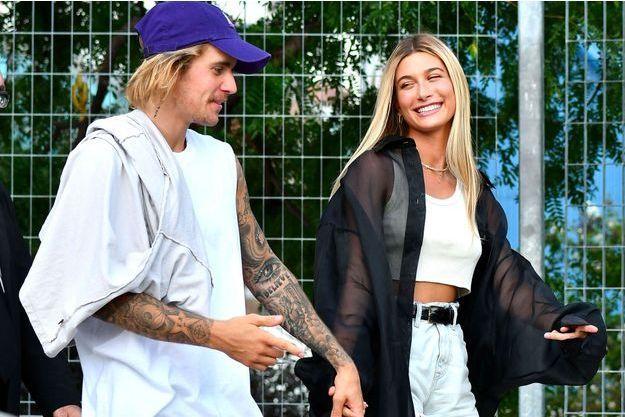 Justin Bieber et Hailey Baldwin à New York le 6 septembre 2018