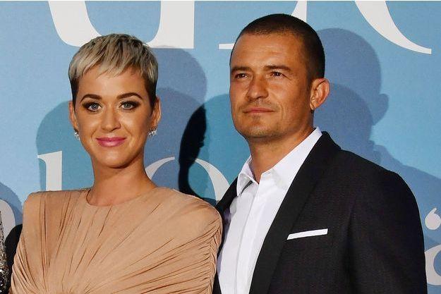 Katy Perry et Orlando Bloom en septembre 2018