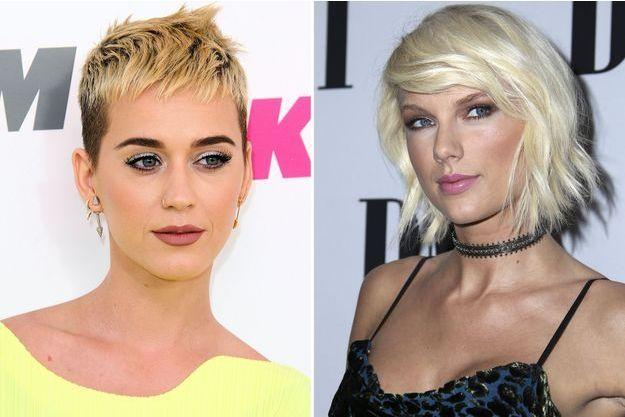 Katy Perry et Taylor Swift.