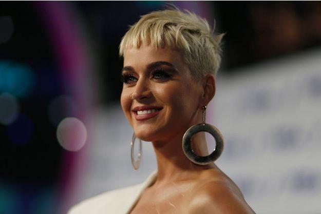 Katy Perry en août 2017