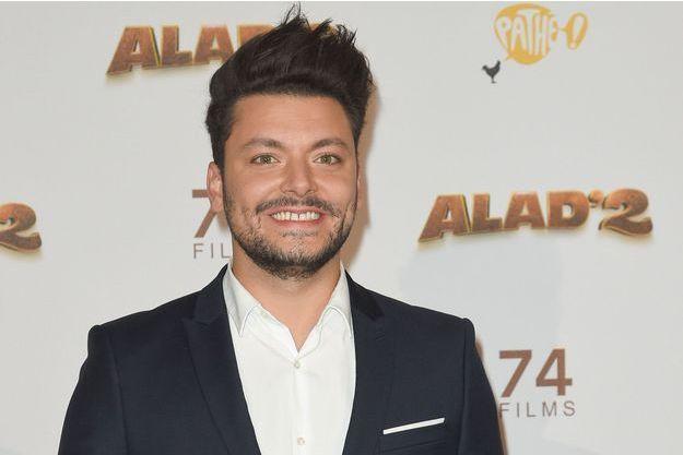 """Kev Adams à l'avant-première du film """"Alad'2"""" à Paris, le 21 septembre 2018."""