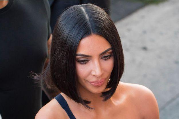 Kim Kardashian le 30 juillet 2018 à Los Angeles, Californie
