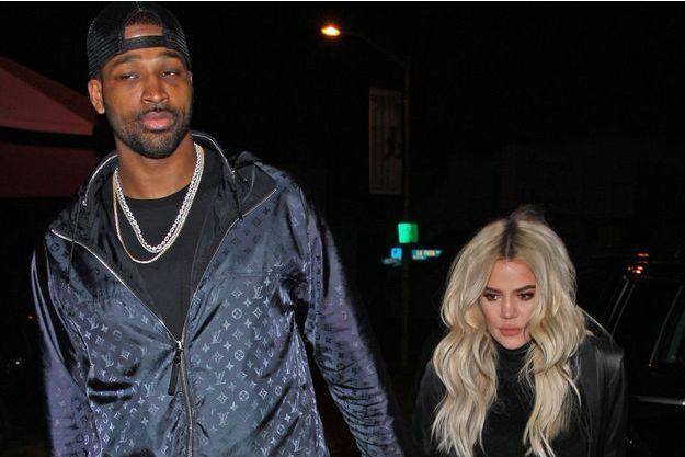 Khloé Kardashian et Tristan Thompson en janvier 2019 à Los Angeles.