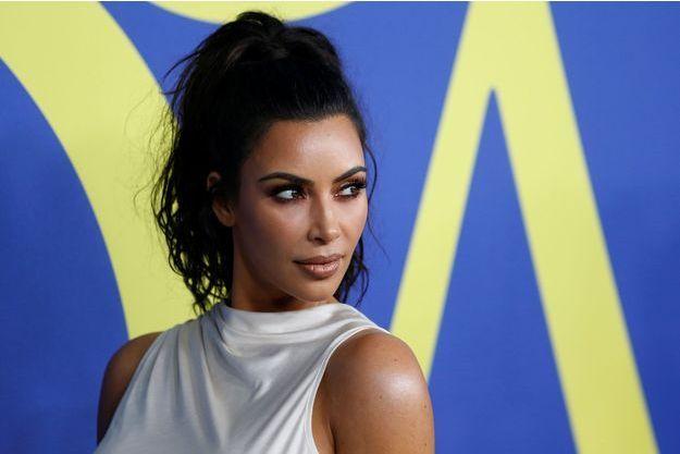 Kim Kardashian en juin dernier.