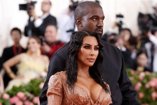 Kim Kardashian et Kanye West au Met Gala le 6 mai 2019