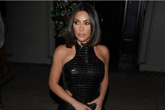 Kim Kardashian dans les rues de Los Angeles le 10 juillet 2019