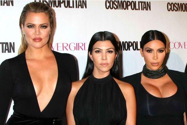 Khloé, Kourtney et Kim Kardashian en octobre 2015