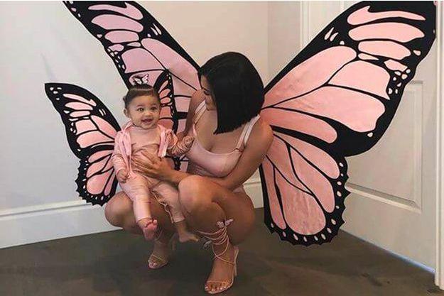 Kylie Jenner et sa fille Stormi pour Halloween