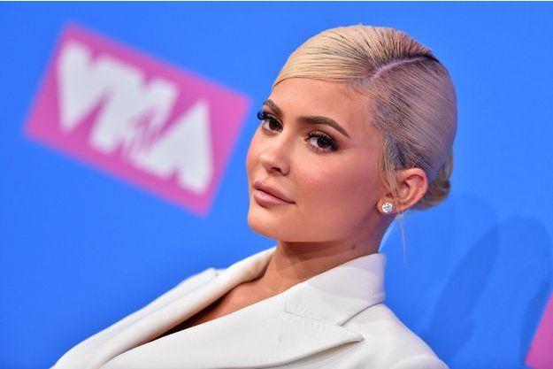 Kylie Jenner, à New York, le 20 août 2018