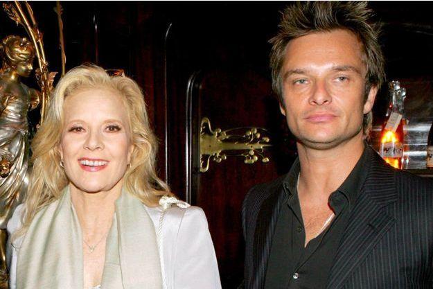 Sylvie Vartan et David Hallyday en 2004.