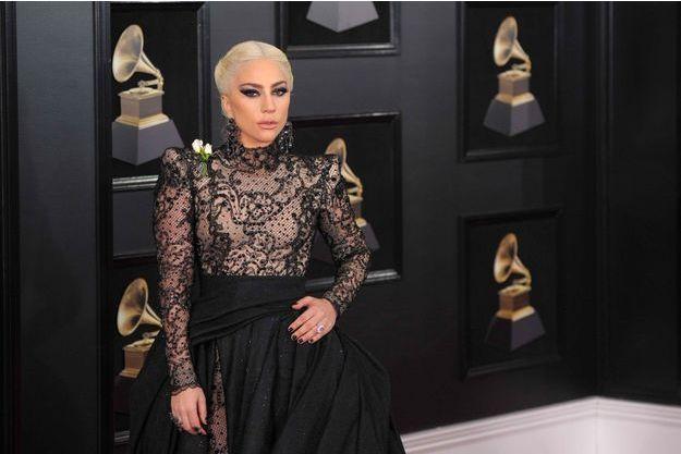 Lady Gaga aux Grammy Awards le 28 janvier 2018