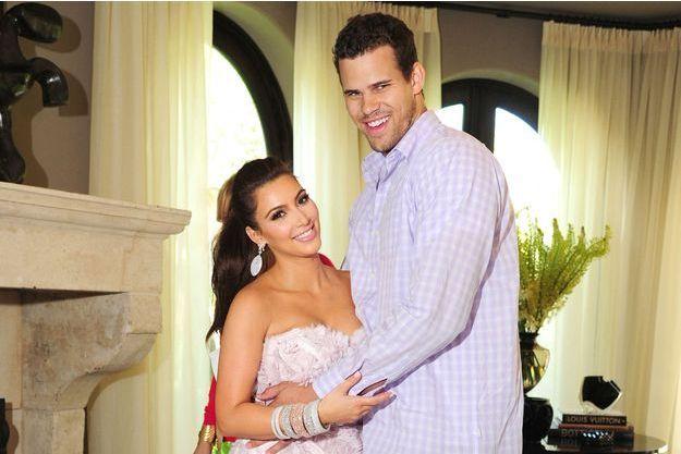 Kim Kardashian et Kris Humphries en 2011