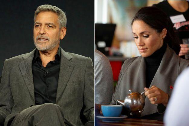George Clooney s'inquiète pour Meghan Markle.