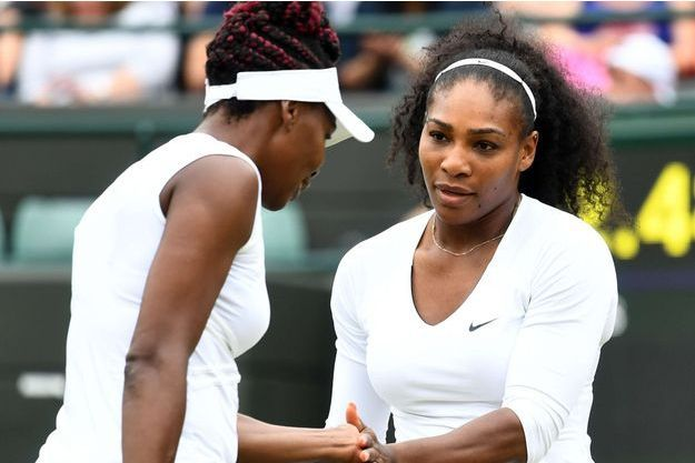 Serena et Venus Williams en juin 2016.