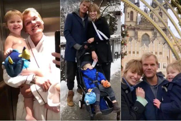 Avicii, Tereza et son fils Luka au temps du bonheur.