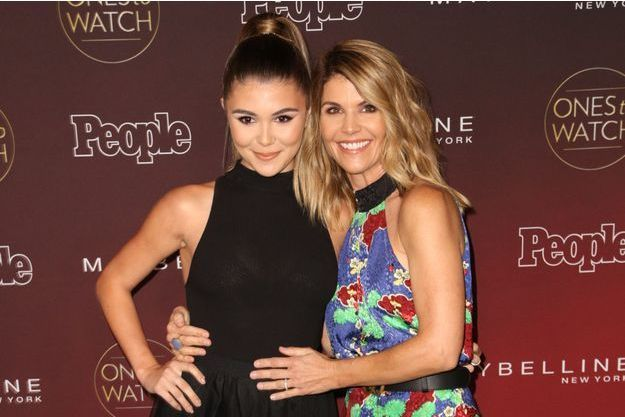 Olivia Jade et Lori Loughlin