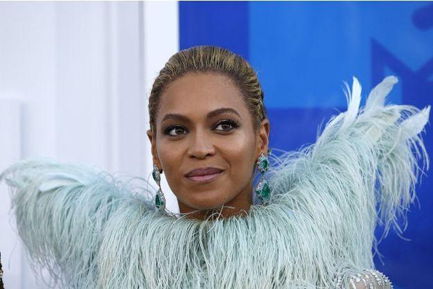 Beyoncé aux MTV Music Awards en août 2016.