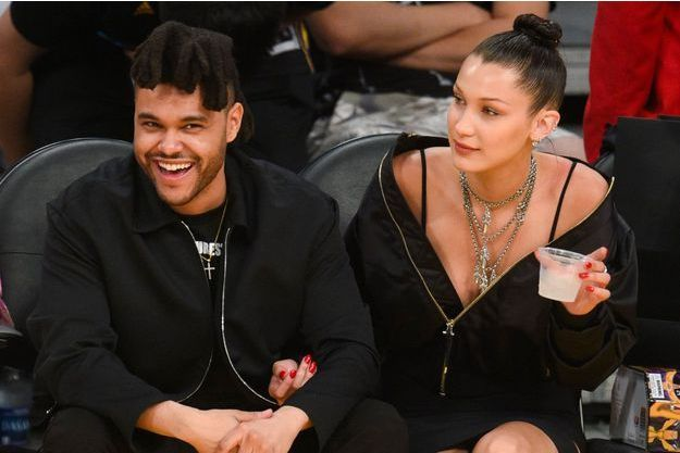 Bella Hadid et The Weeknd en avril 2016 à Los Angeles