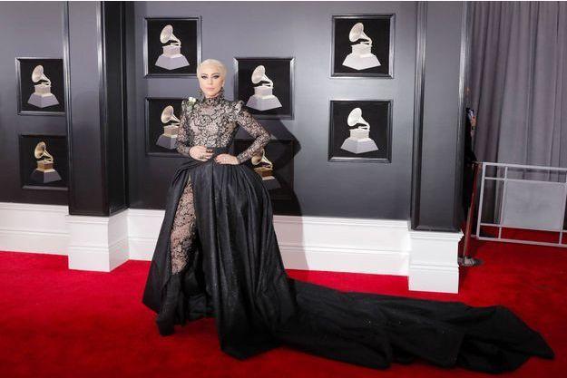 Lady Gaga lors de la soirée des Grammy Awards, le 28 janvier.