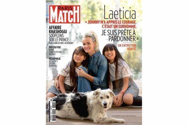 La couverture du numéro 3624 de Paris Match.