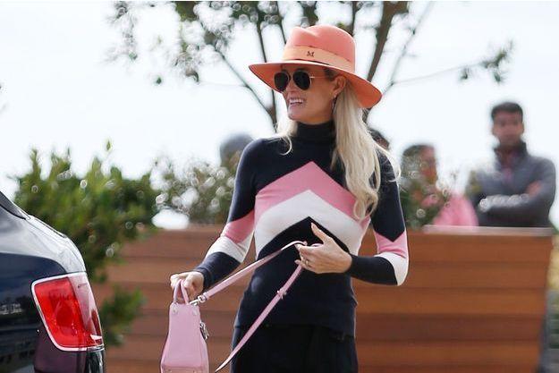 Laeticia Hallyday à Los Angeles, le 9 février 2019