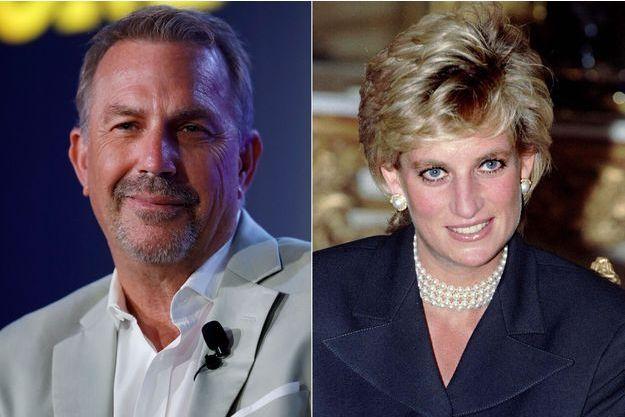 Kevin Costner et Lady Diana
