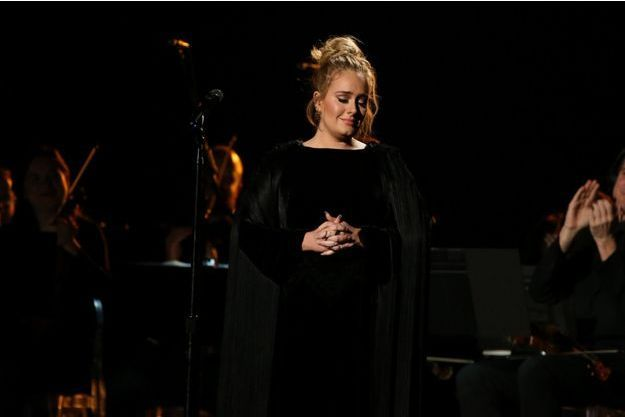 Adele à Los Angeles en février 2017.