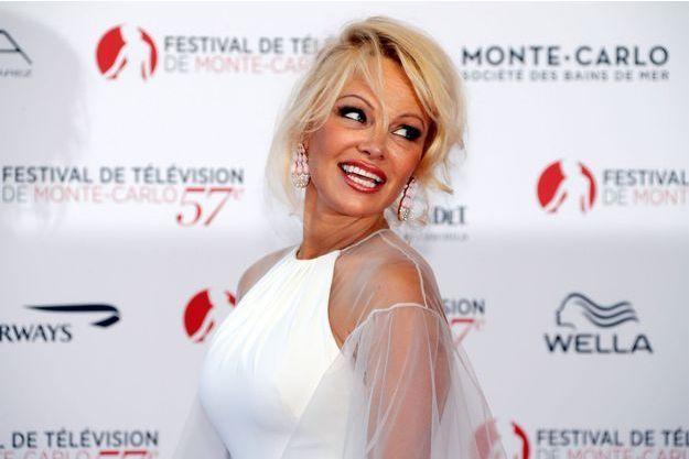 Pamela Anderson en juin dernier.