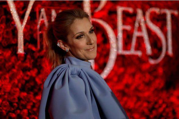 Céline Dion en 2017.