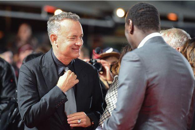 """Tom Hanks et Omar Sy à l'avant-première de """"Inferno"""" à Berlin"""