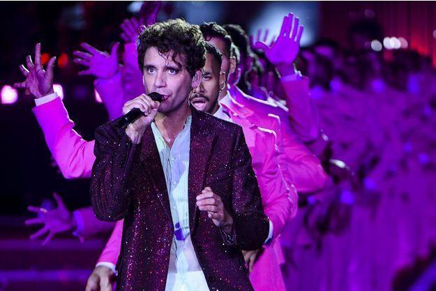 Mika en concert à Paris en juin 2018.