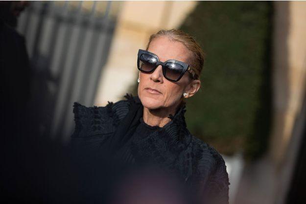 Céline Dion à Paris, le 2 février dernier.