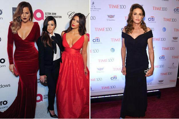 Khloé, Kourtney, Kim Kardashian et Caitlyn Jenner