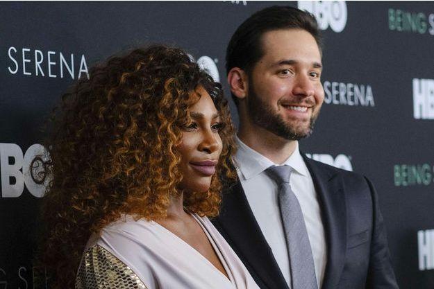 Serena Williams et Alexis Ohanian