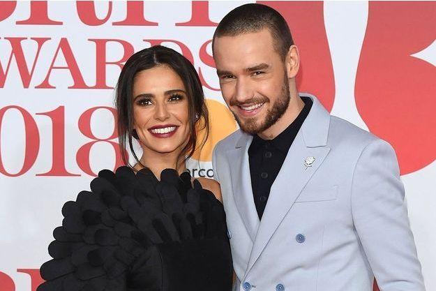 Cheryl Cole et Liam Payne à la soirée des 38ème Brit Awards, à Londres, le 21 février 2018.