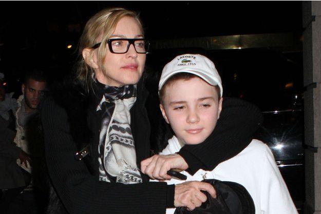 Madonna et Rocco en 2012.