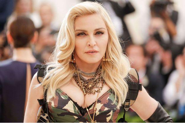 Madonna au Met Gala 2017
