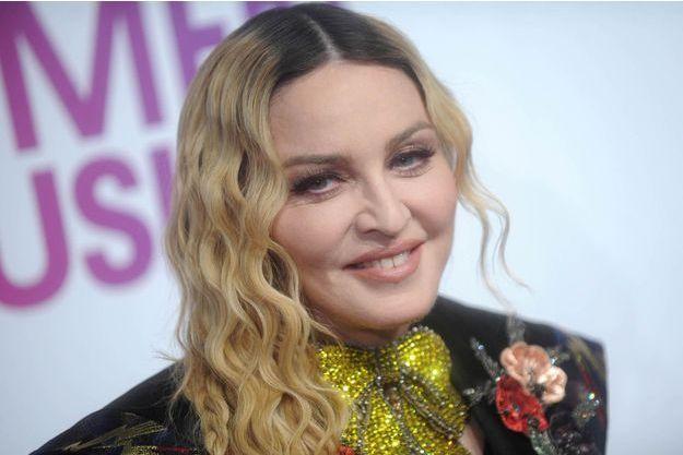 Madonna, le 9 décembre 2016 à New York.
