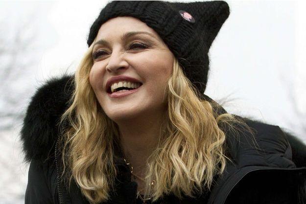 Madonna à Washington, le 21 janvier 2017.