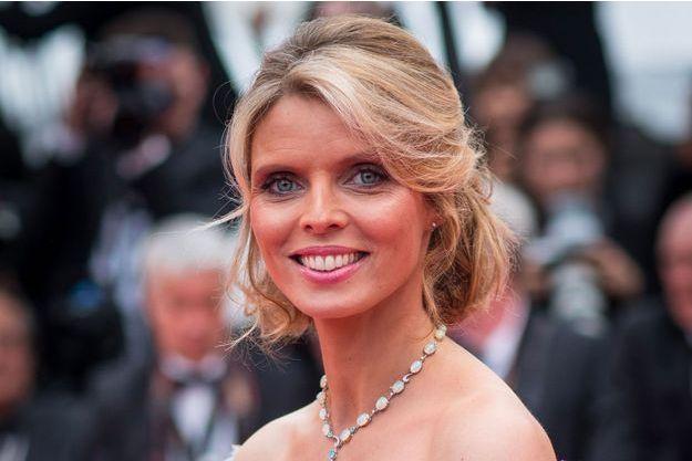 Sylvie Tellier en mai 2018 au Festival de Cannes