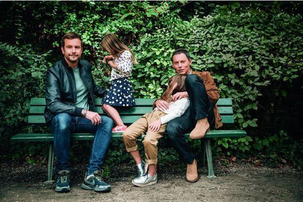 Marc Olivier fogiel en famille