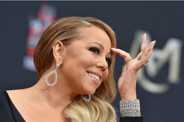 Mariah Carey en novembre 2017.