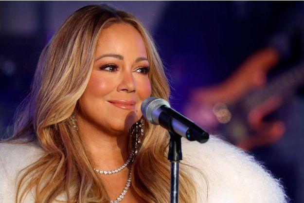 Mariah Carey, le 16 janvier 2019 à New York.